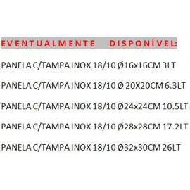 PANELA 24cm  INOX 10,5L HASCEVHER